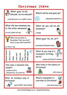 16 Best Christmas Jokes for Kids images