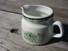 Vintage Sweden Rorstrand GRON ANNA pattern porcelain by Luckytage, €12.90