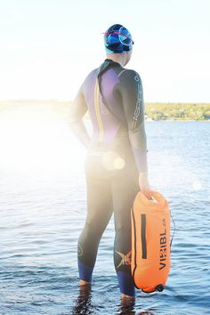 Open Water Swimming Safety / Reviews of the Restube and Vizibl
