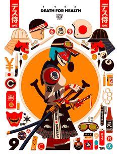 Maridaje argentino-nipón en las ilustraciones de Mau Lencinas 11