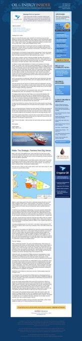 Energy News site e-mail newsletter contest - Read by people daily by obsidian_