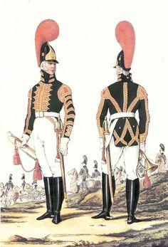 Трубачи-конной-роты-Лейб-гвардии-Артиллерийского-б-на-1802-05 гг.