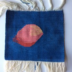 Tapestry Weaving Resources - Finishing Woven Tapestry Ends.