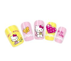COME 2 BUY - Nail Art Tatoo/Wrap Water Transfer Decals Hello Kitty Cupcake & Butterfly For Nail Art / Cell Phone Case / Invitation Cards Decorations D¨¦cor