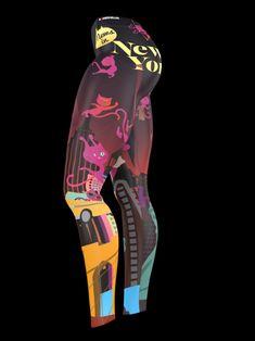 #MewsinNewYorkby Fuki Funakoshi Leggings from Bombsheller