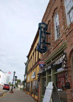 """Palm's Grill Café "" in Atlanta Illinois  http://route66jp.info Route 66 blog ; http://2441.blog54.fc2.com https://www.facebook.com/groups/529713950495809/"