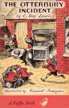 my vintage book collection (in blog form).: The Otterbury Incident - illustrated by Edward Ardizzone