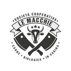 logo for butcher's shop Grill Logo, Butcher Shop, Paint Techniques, Design Packaging, Barbacoa, Shop Logo, Body Tattoos, Juventus Logo, Logo Design Inspiration