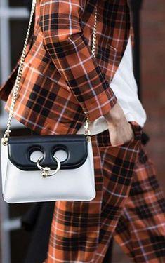 Mini Black Cross-body Pierce Bag by J-W Anderson