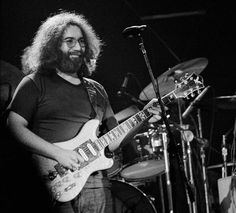Jerry at the closing of Winterland