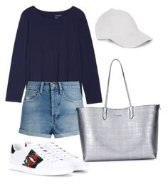"""""""Casual"""" by pitaa29 on Polyvore featuring Sejour, Raey, Gucci, Alexander McQueen and Le Amonie"""