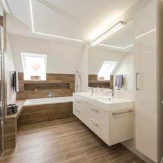 Koupelny - fotogalerie a inspirace | Favi.cz Home Hacks, Bauhaus, Corner Bathtub, Home Interior Design, Future House, Flooring, Bathroom, Furniture, Home Decor