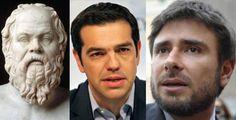 Socrate - Tsipras - Di Battista
