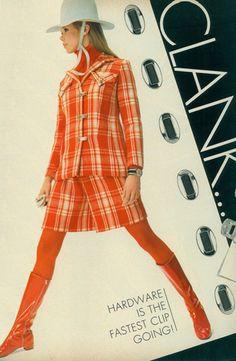 1960s Orange boots!