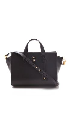 Alexander Wang Pelican Satchel. With haircalf sides? Perhaps. A little too uni-textured for my taste right now.