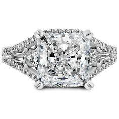The Princess Baguette Ring