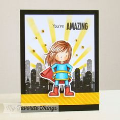 You're Super, You're Super Die-namics, Sun Ray Stencil - Torico #mftstamps