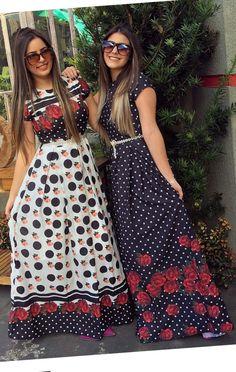 #modamodestaclassica #mustachestore #bembasiquinha #migasualoucaarrasou #lindasemservulgar #flordojardimdeDeus #lacretotal #pisamenos #inspiracaomaravilhosa #paratudoqueelavaipassar #temcomonaoamar #LookFechaçao #Top #poderosasim #elaélindaela Modest Dresses, Modest Outfits, Simple Dresses, Cute Dresses, Trend Fashion, Fashion Wear, Fashion Outfits, New Model Dress, Hot Summer Outfits