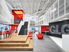 Gerson Lehrman Group by Clive Wilkinson Architects: 2016 Best of Year Winner for Midsize Corporate Office