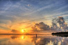 Sunrise at Nusa Dua Beach, Bali | It was a beautiful morning… | Flickr