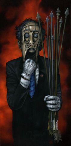Horror art by Jeff Christensen