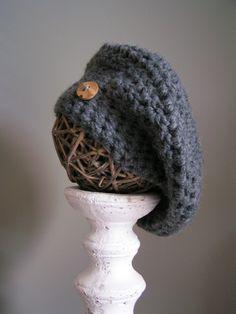 Bonnet / Chapeau / Beret au crochet : Chapeau, bonnet par une-maille-en-l-air
