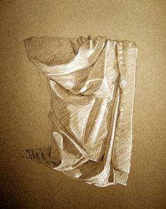 Laura's Art Blog: Moar figure drawing + draperies
