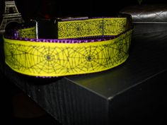 Spider Web Collar for sale @www.jumpinjaxpets.etsy.com