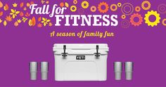 PF Fort O is giving away a YETI family prize pack in their new #FallForFitness promotion! I signed-up to win & you can too! #PFPromo
