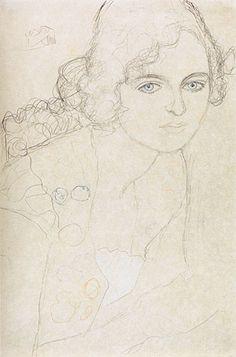 Gustav Klimt sketch: In-depth analysis and art prints at: gustavklimtthekiss.com