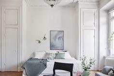 Studio Loft Apartments, Studio Apartment, York Apartment, Scandinavian Interior Bedroom, Interior Styling, Interior Design, Gravity Home, Dream Bedroom, Bedroom Small