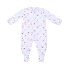 Guava Juice Long Sleeve Baby Girls Jumpsuit Cute Toddler The Four Seasons Bodysuits