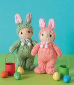 Free Knitting Pattern for an Easter Bunny Doll to Adore! Free Knitting Pattern for an Easter Bunny Doll to Adore! Knitted Doll Patterns, Animal Knitting Patterns, Knitted Dolls, Crochet Toys, Knit Crochet, Knitted Bags, Little Cotton Rabbits, Ty Beanie Boos, Knitted Animals