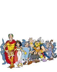 Asterix - The A to Z of Asterix - Characters - Boneywasawarriorwayayix