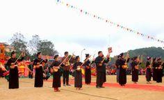 Chung vui Lễ hội Lồng Tồng của người Tày ở Hà Giang