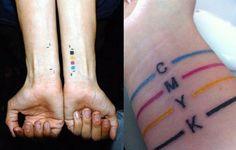 CMYK tattoo & diseño, perfecto para mi jeje