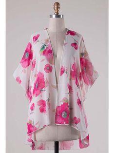 Floral Soul Kimono