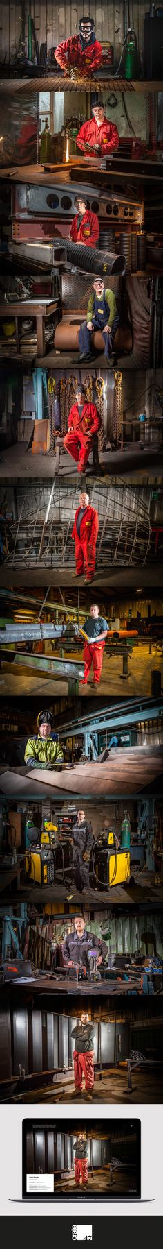 Crate47's new website for Littlehampton Welding included the portrait photography of every member of staff at their work stations. This has not only promoted their skills and craftsmanship to the wider world but also had the additional benefit of greater staff engagement.