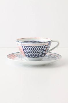 Sen-Gaki Cup & Saucer - anthropologie.com