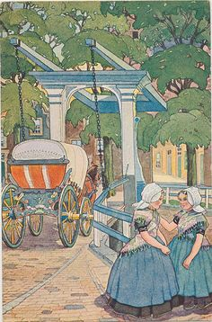 pc klederdracht Walcheren pm 1910 by janwillemsen, via Flickr