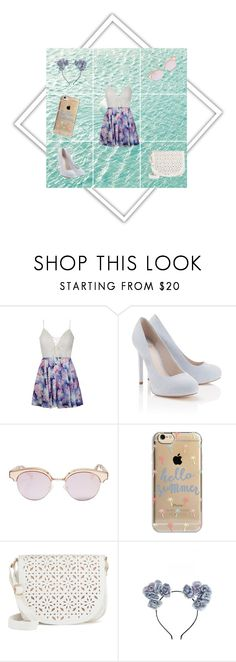 """""""Walk on the Beach"""" by skyes-are-blue on Polyvore featuring Ally Fashion, Lipsy, Le Specs, Agent 18 and Under One Sky"""