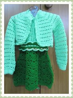 Sweet Nothings Crochet: AMAIRA's JACKET & HEADWEAR