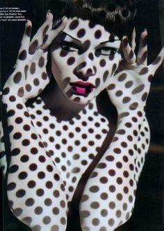 Solve Sundsbo for Numero 93 - decorating with stripes polka dots and pom poms - myLusciousLife.com.jpg