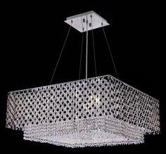 Moda Jet Crystal Chandelier w 5 Lights in Chrome - http://chandelierspot.com/moda-jet-crystal-chandelier-w-5-lights-in-chrome-504928940/