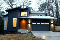 modern exterior siding modern horizontal cedar siding cost modern exterior siding inspirations at modern house siding ideas House Siding, House Paint Exterior, Exterior Siding, Exterior House Colors, Cedar Homes, Metal Siding, Exterior Remodel, Modern Exterior, Exterior Design