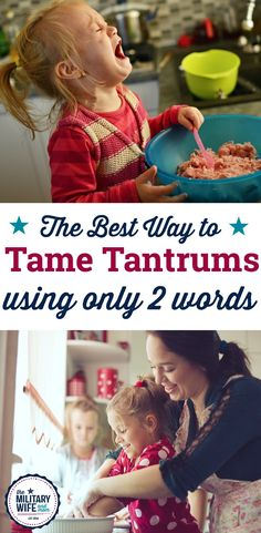Learn two important words that can help tame tempe…