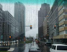Berlin im Regen ... von Ilka Jost