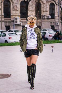 Punk, Street Style, People, How To Make, Fashion, Note, Moda, Urban Style, Fashion Styles