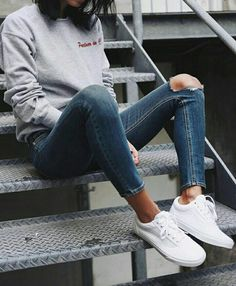 fashion, style, and jeans Bild