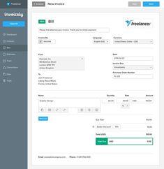 Free Invoice Generator Free Online Invoice Generator Pinterest - Free invoice maker
